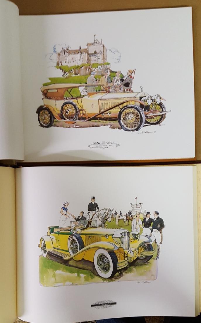 Four large books incl three Ken Dallison - 2