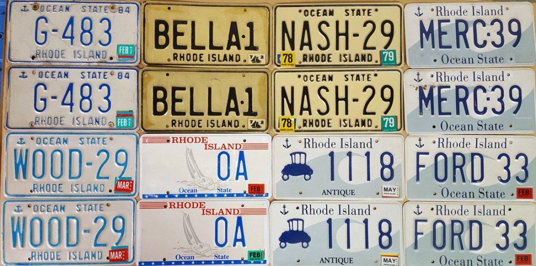Fourteen unique Rhode Island pairs