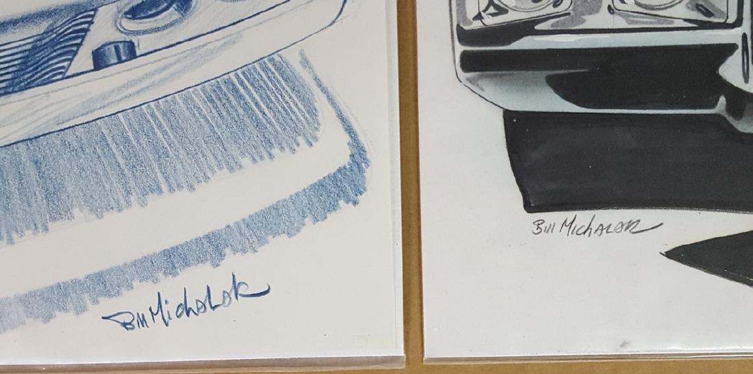 Two ca 1970 Pontiac design drawings - 2
