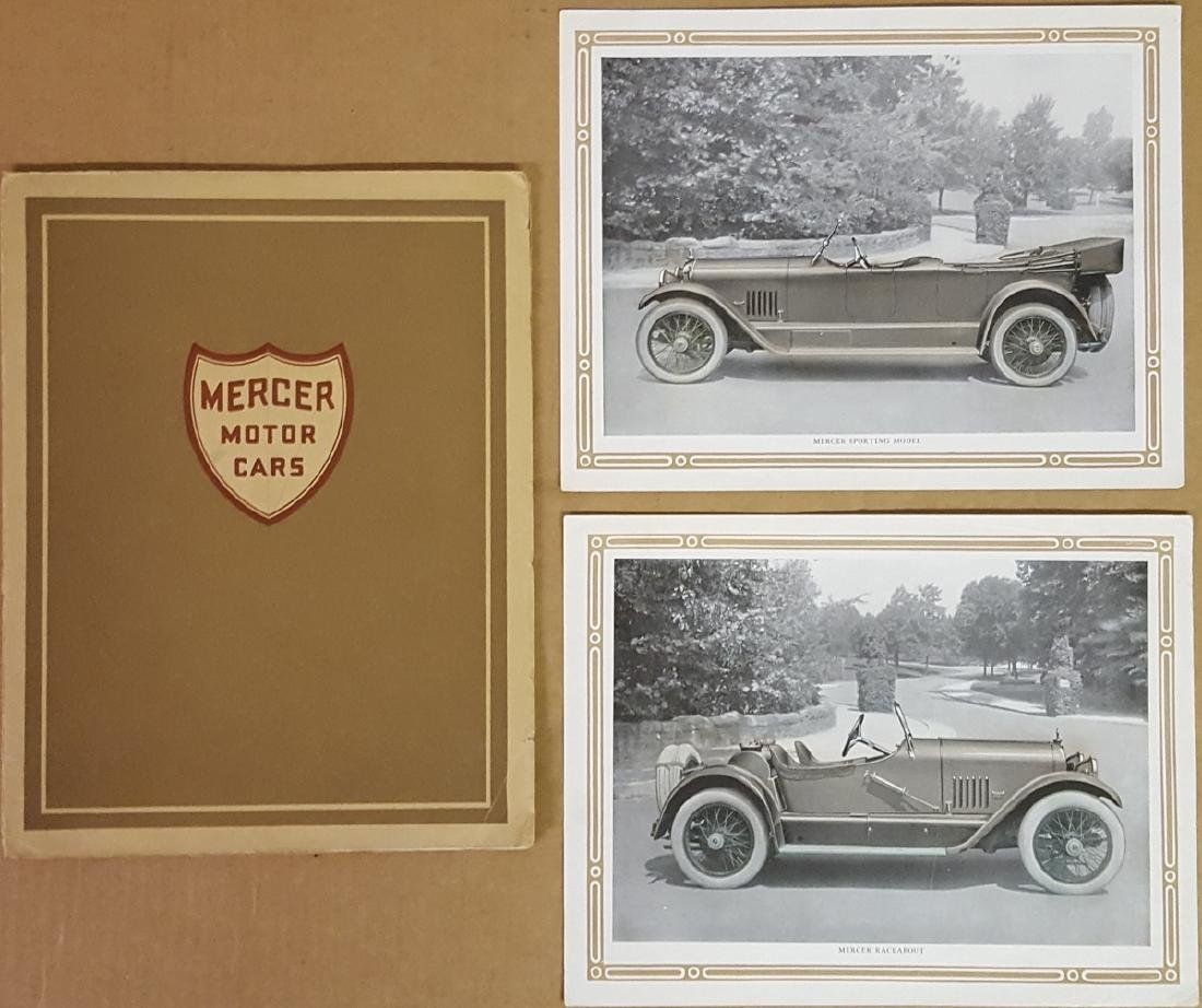 Early 1920's Mercer Series 5 catalog