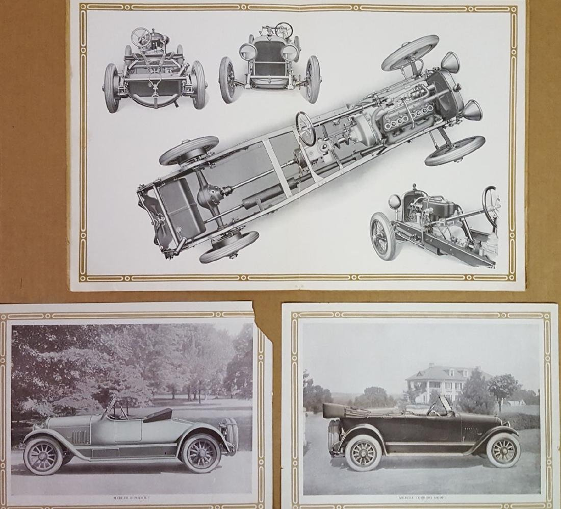 Early 1920's Mercer Series 5 catalog - 2