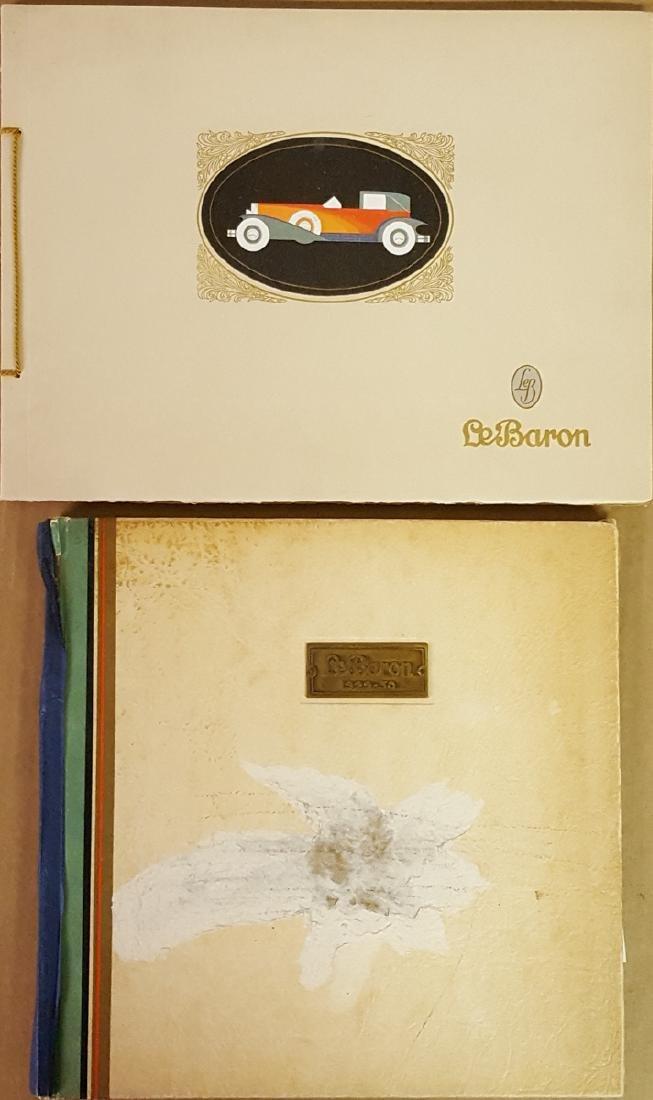 Two LeBaron presentation albums