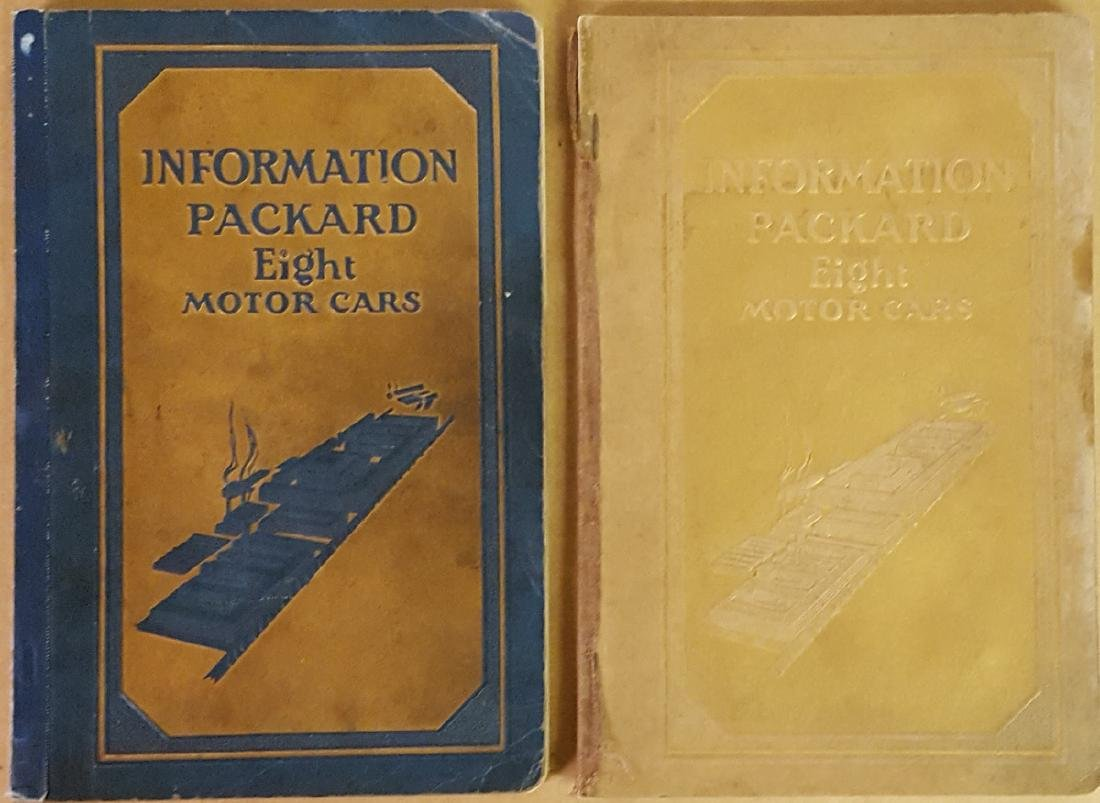 1929 and 1930 Packard manuals