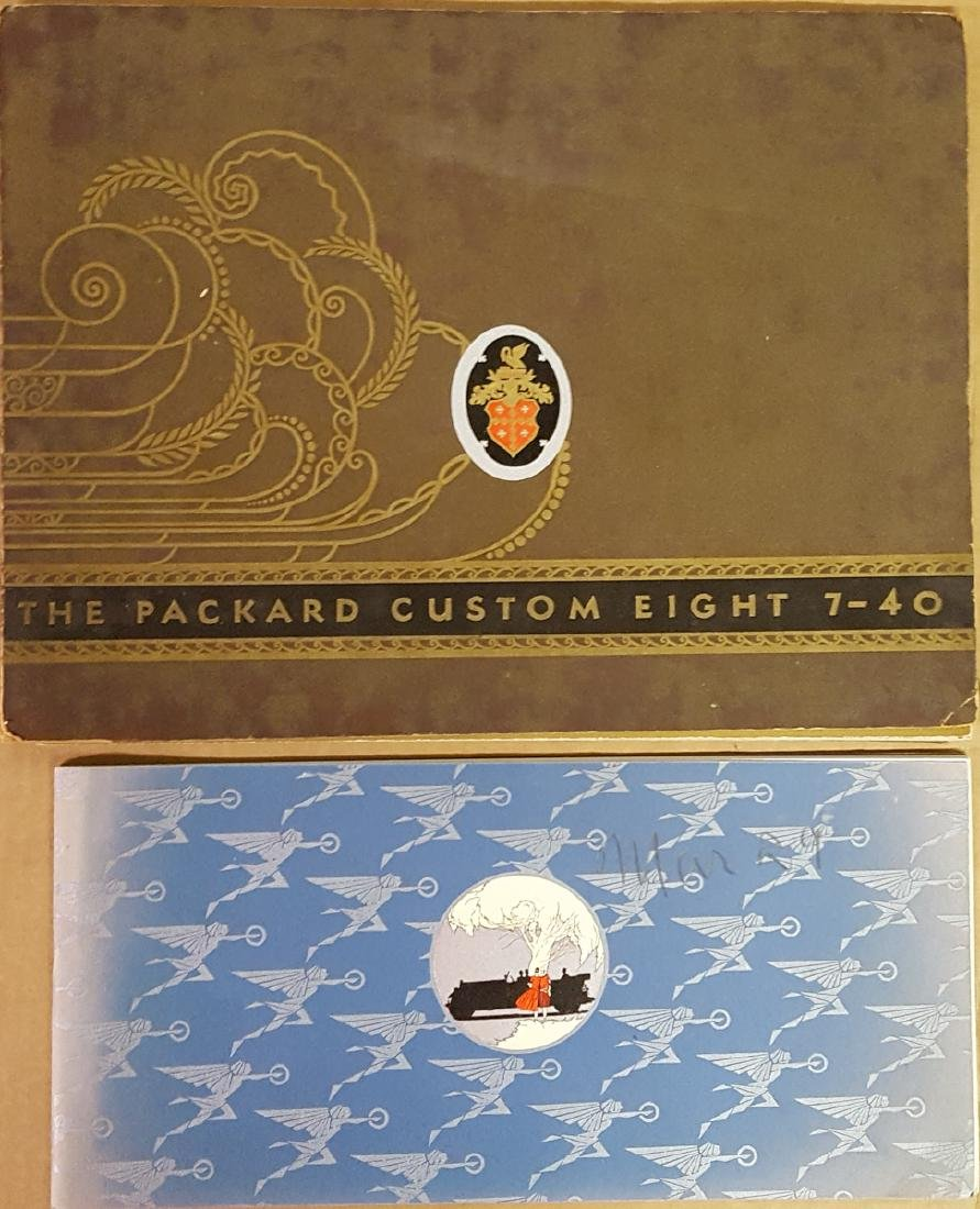 Two 1929 - 30 Packard items