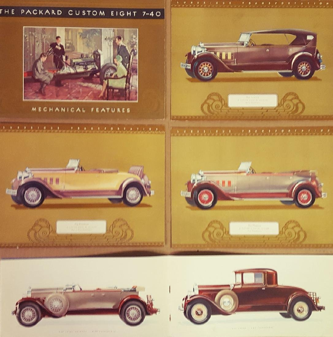 Two 1929 - 30 Packard items - 2