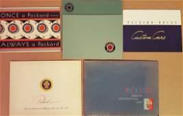 Misc 1930-1954 Packard brochues