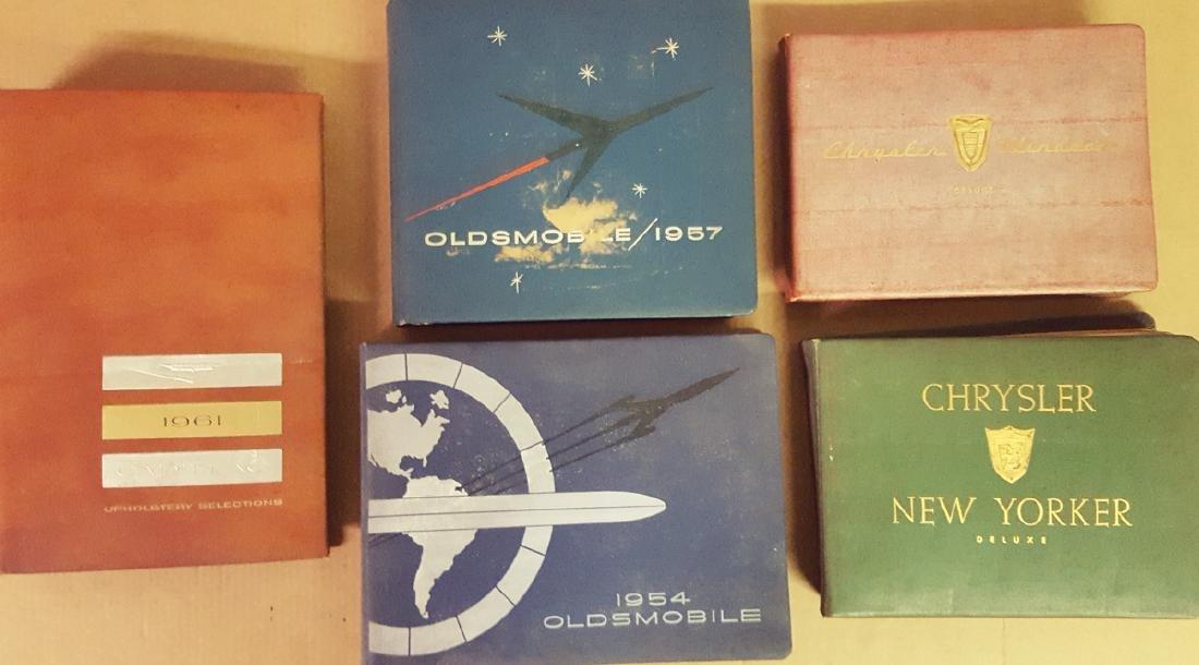 Five 1954 - 1960 dealer albums