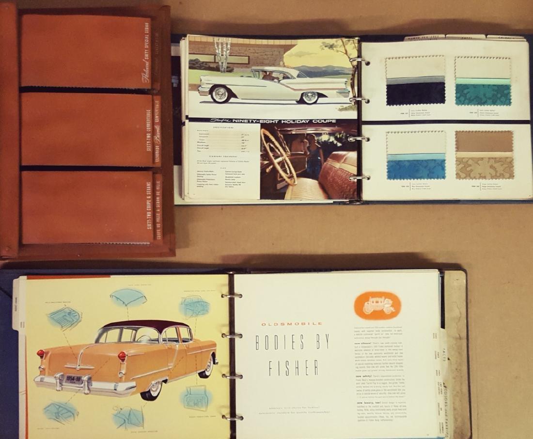 Five 1954 - 1960 dealer albums - 2