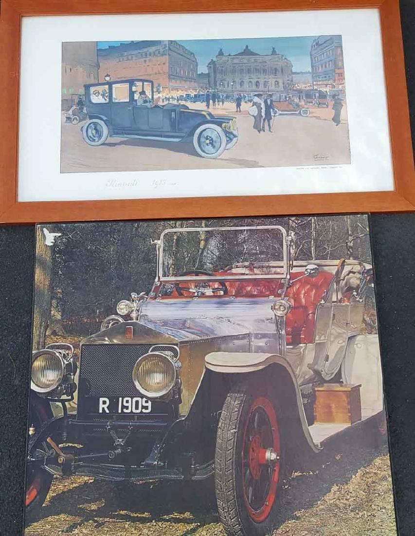 Three repro framed Gamy prints - 2