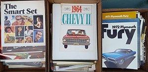 1960's-70's US sales brochures