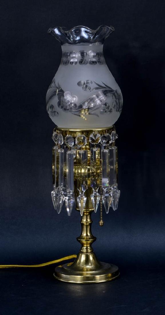Pair of Handel boudoir lamps - 2