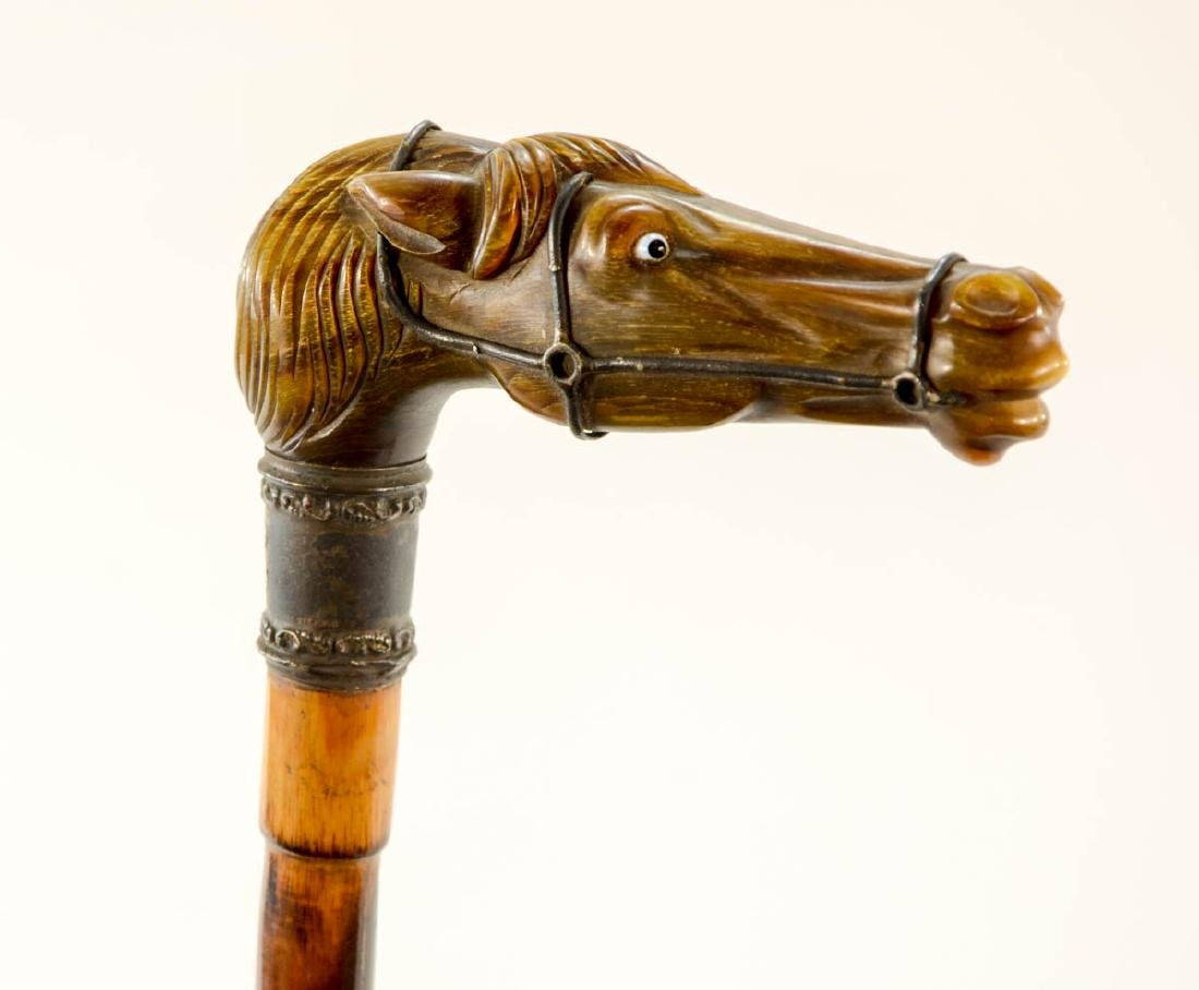 Sterling Mounted Riding Crop