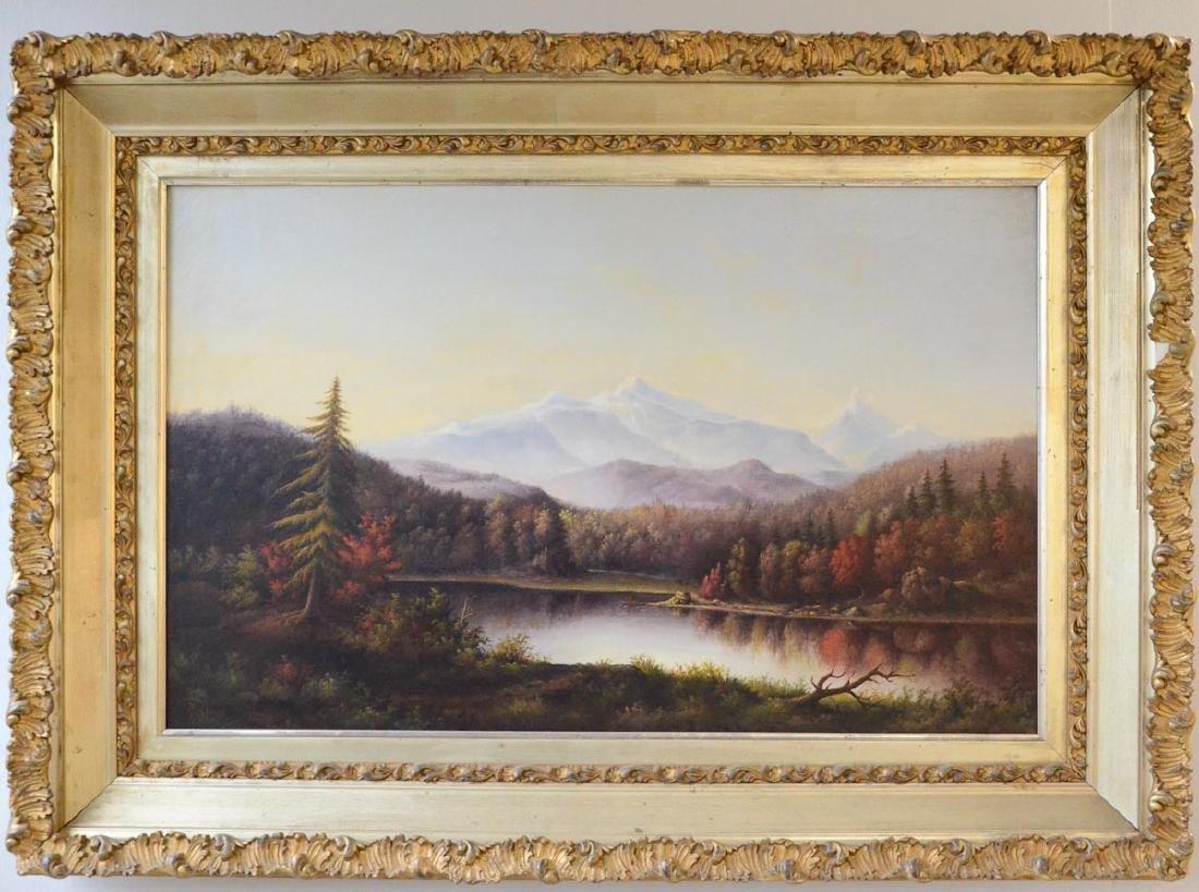 Antique American Landscape Painting