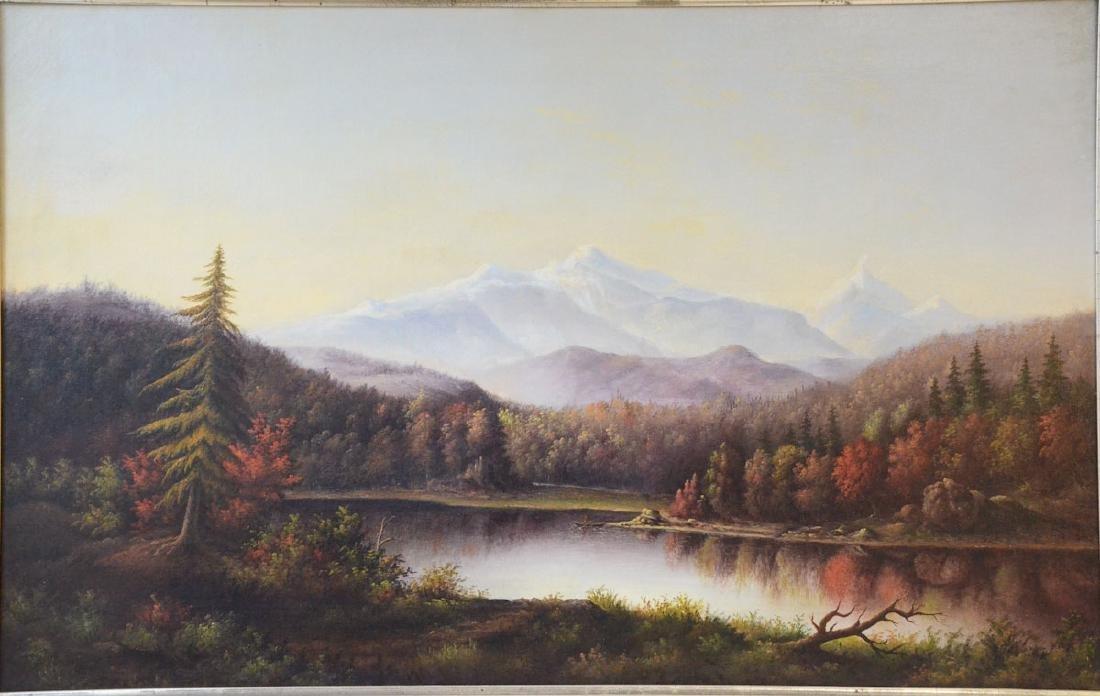Antique American Landscape Painting - 2