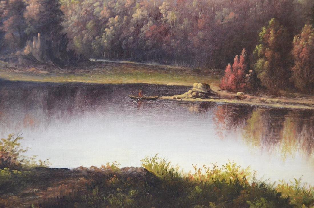 Antique American Landscape Painting - 3