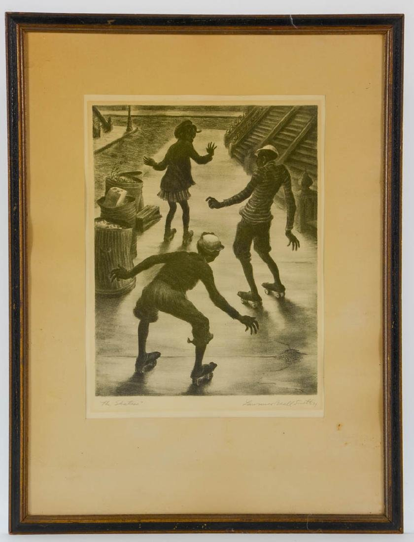 Lawrence Beall Smith: The Skaters - 2