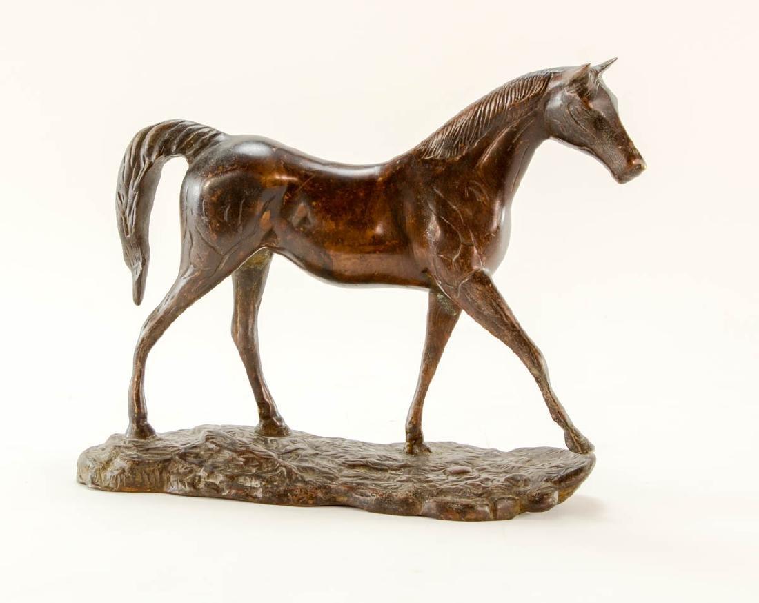 Bronze Horse Figure
