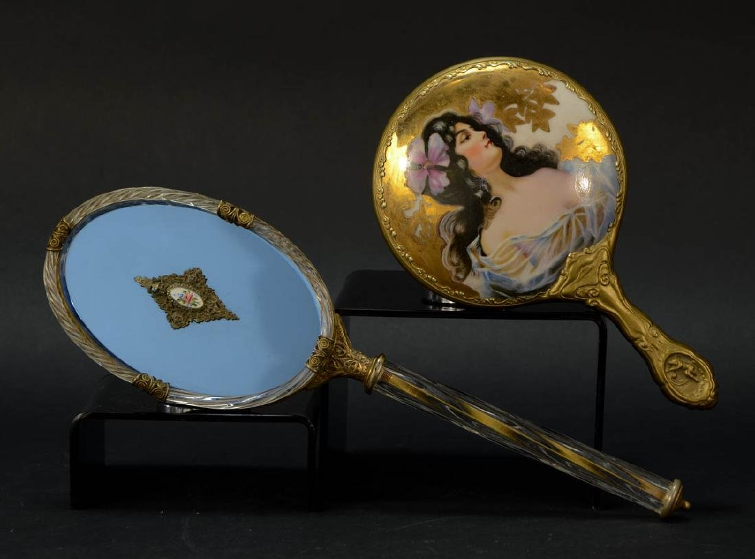 Two Ladies Hand Mirrors