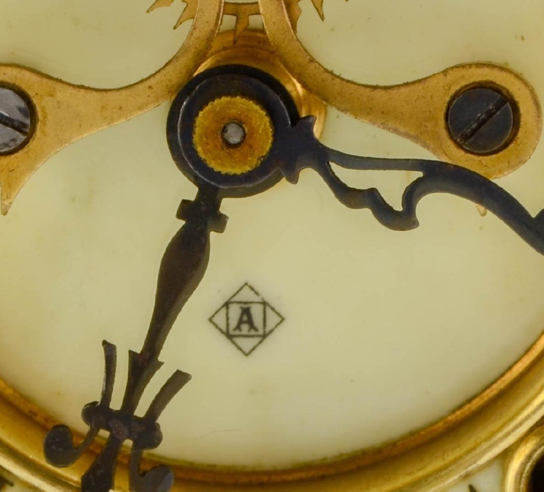 Ansonia Crystal Regulator Clock - 4