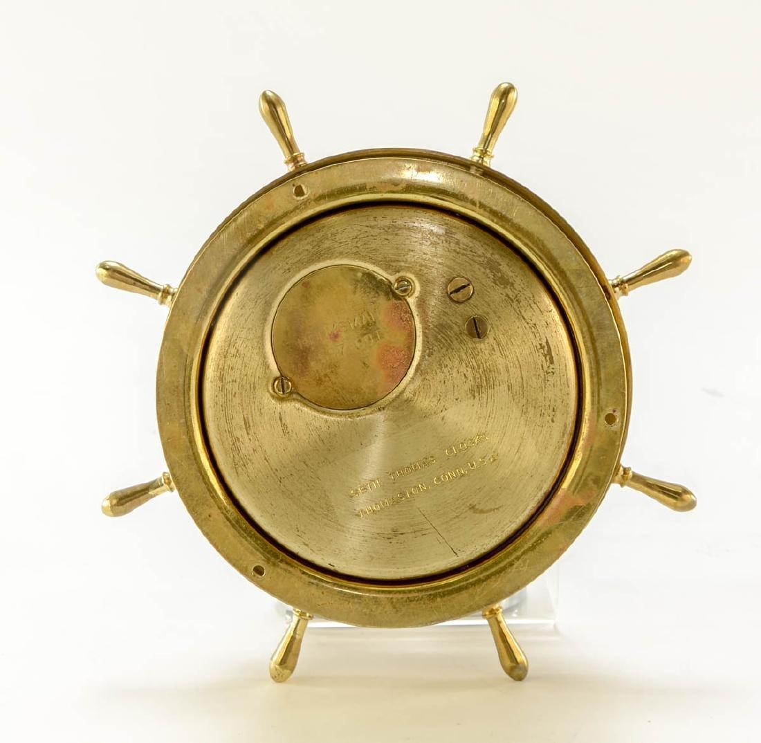 Seth Thomas Ships Clock & Barometer - 3