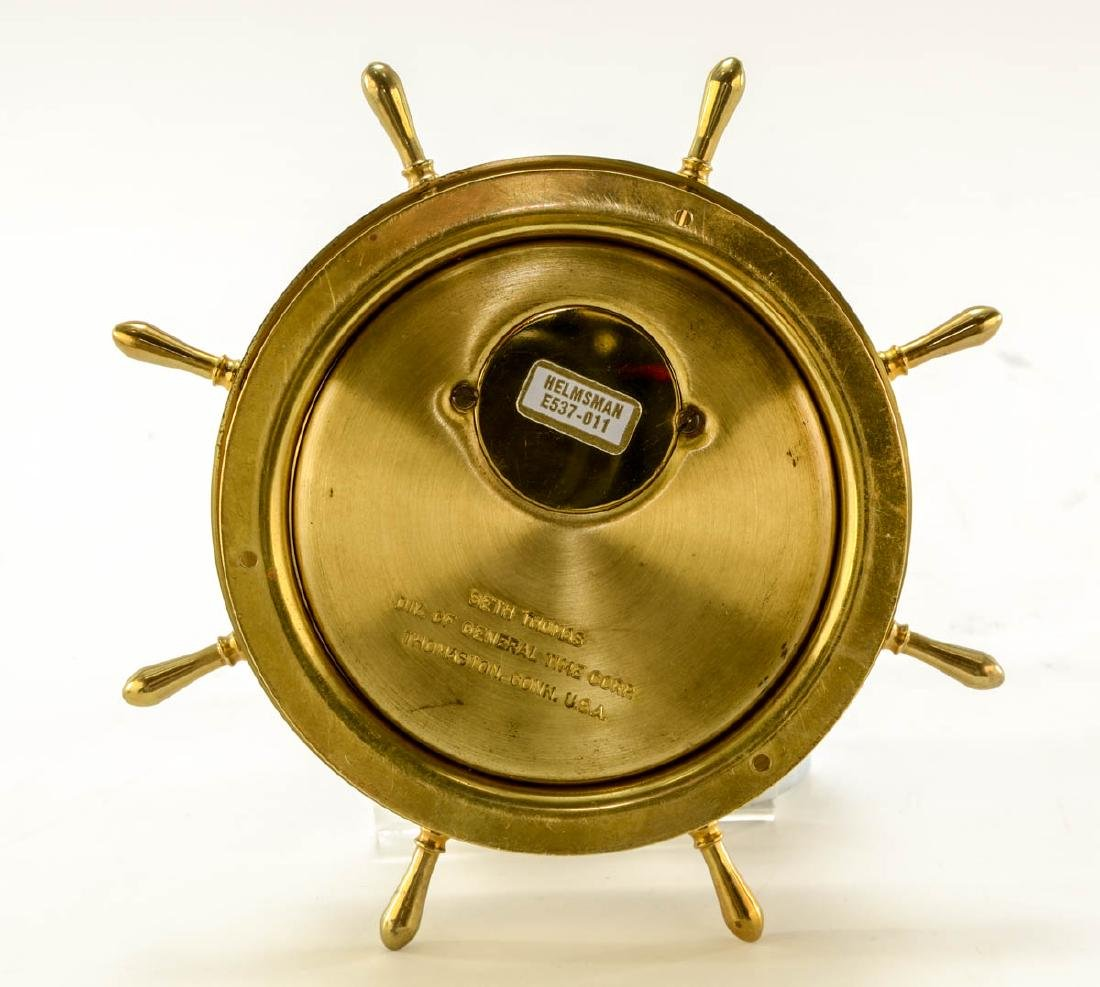 Seth Thomas Ships Clock & Barometer - 5