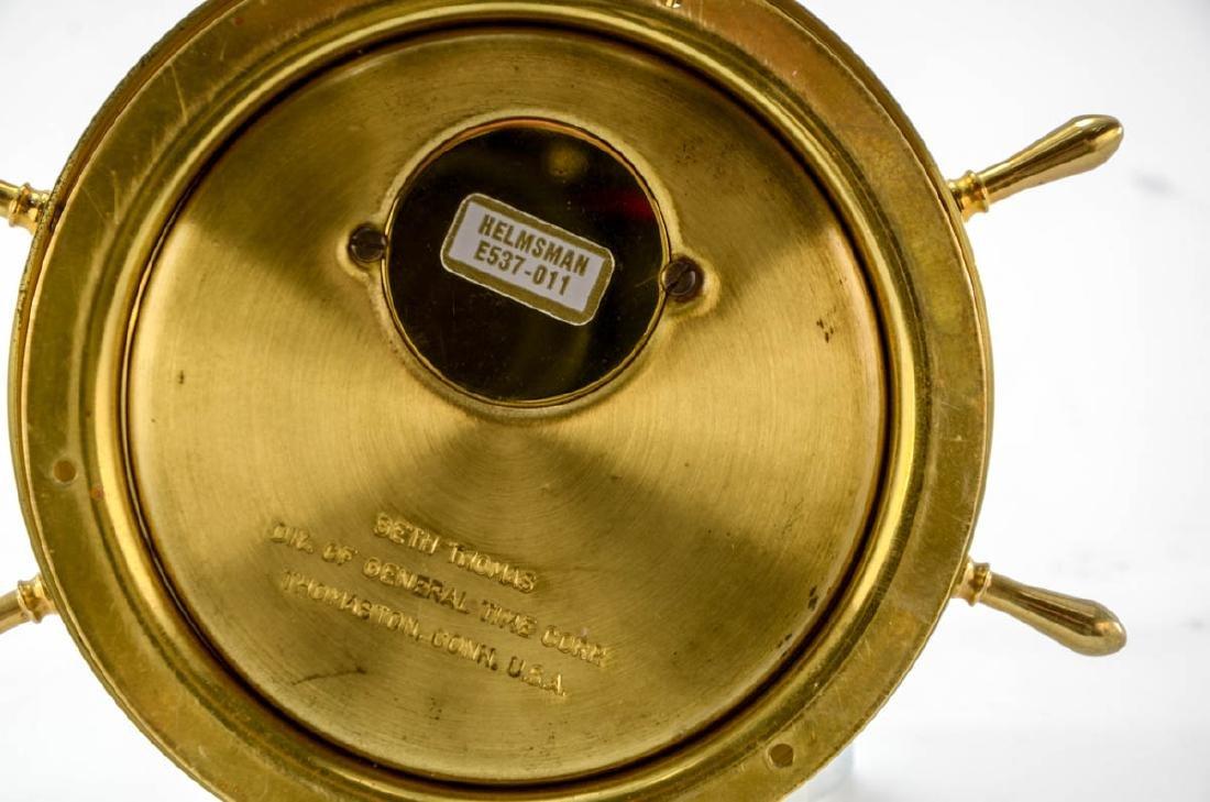 Seth Thomas Ships Clock & Barometer - 6