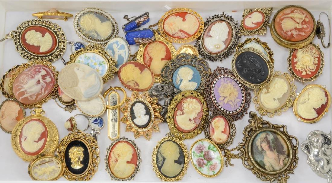 2 trays of fashion jewelry - 2