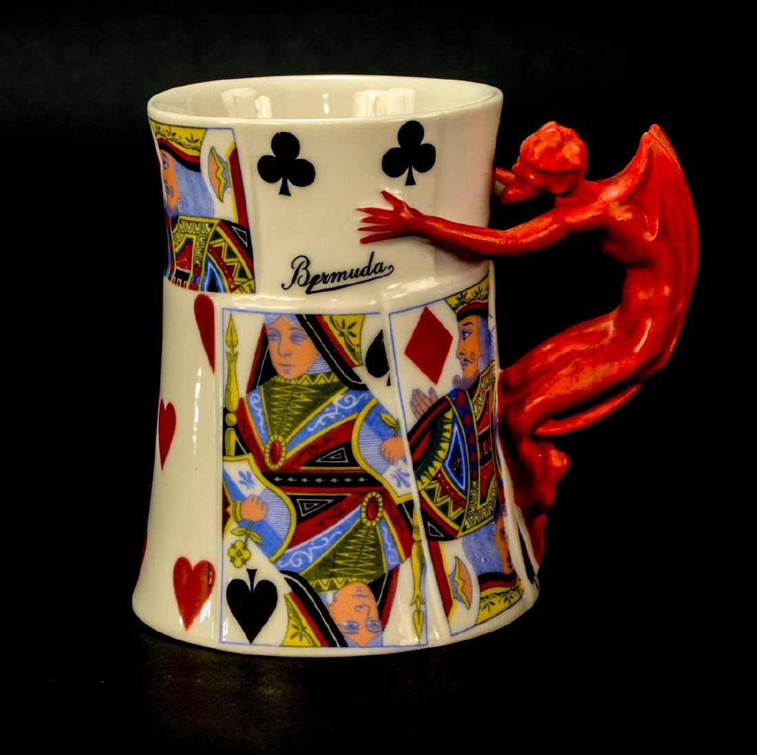 Royal Bayreuth Porcelain Devil mug