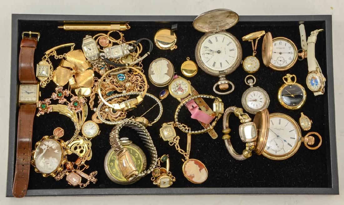Gold Filled Watch and Jewelry group