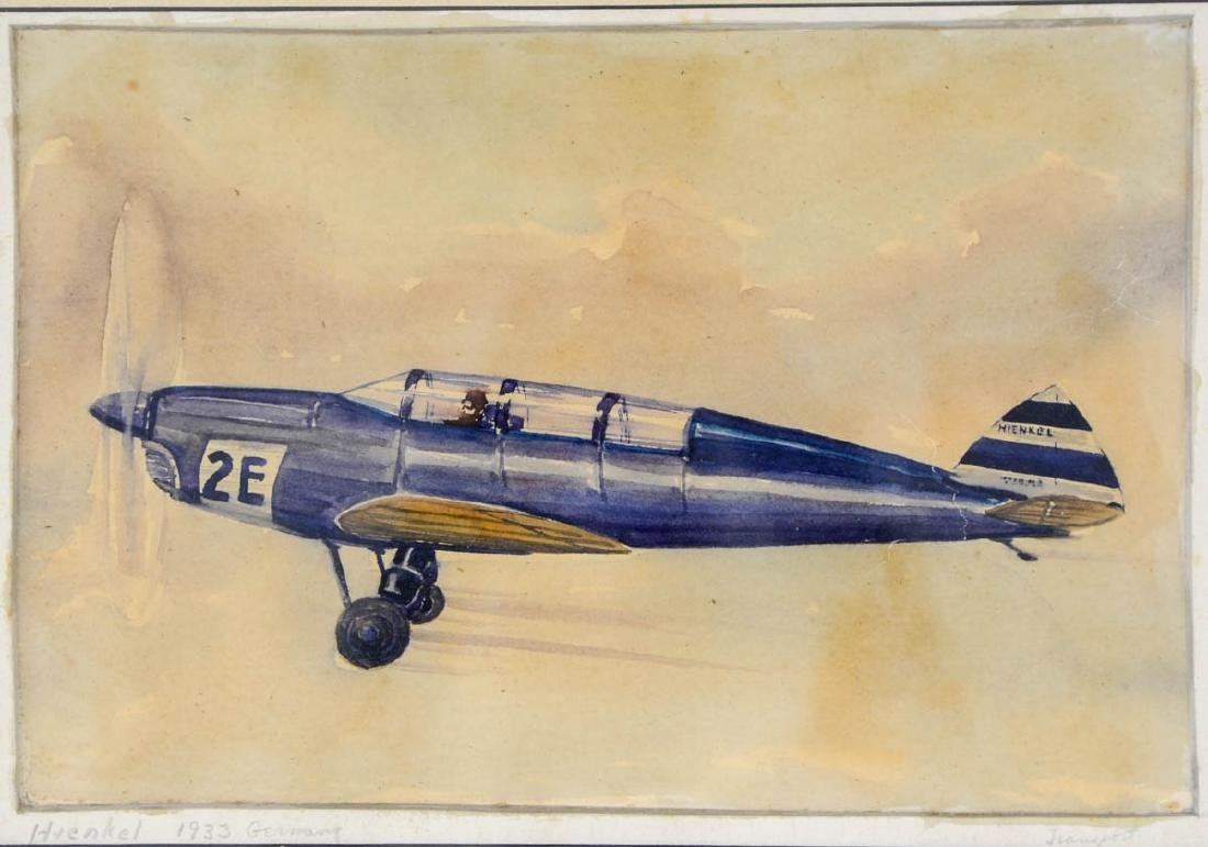 Four Aviation Illustrations - 2