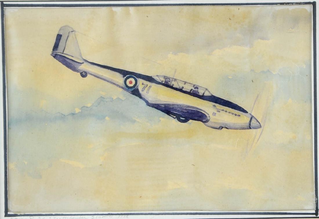 Four Aviation Illustrations - 3