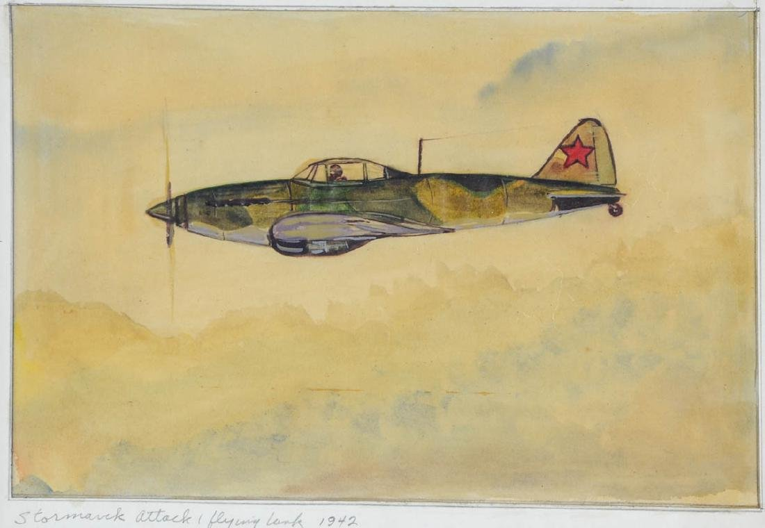 Four Aviation Illustrations - 4