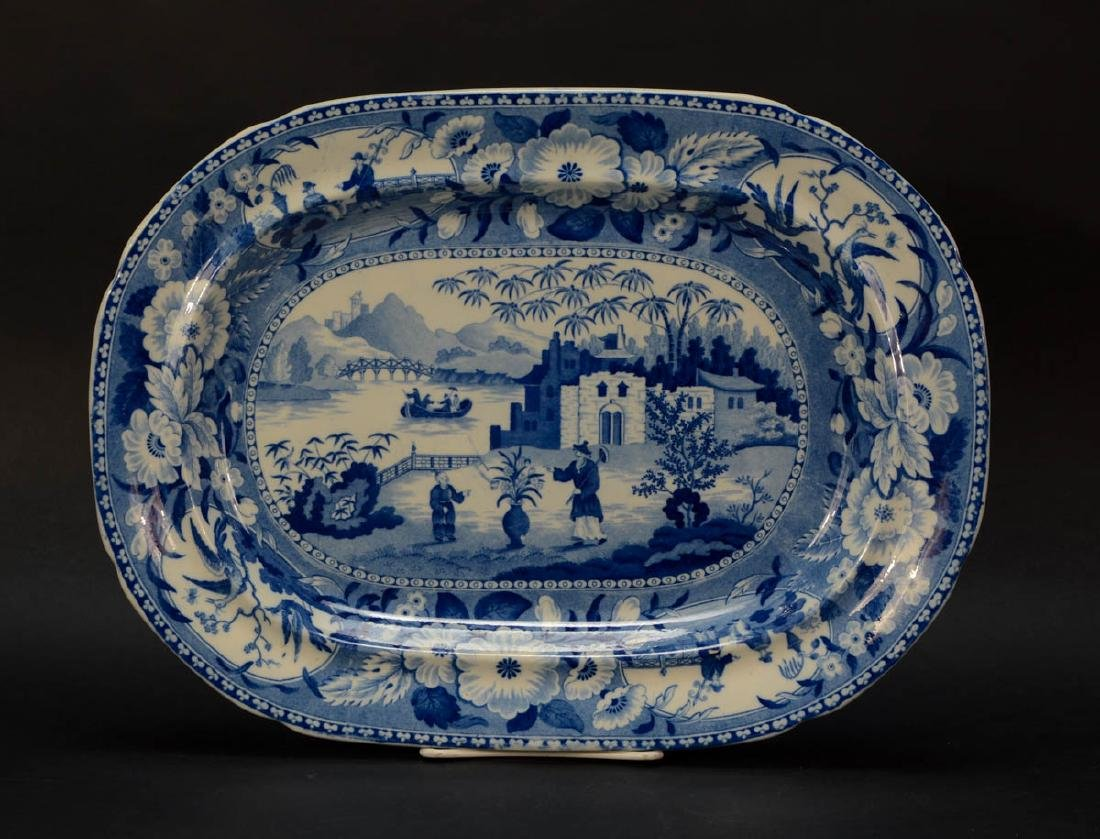 Staffordshire Transferware Platter