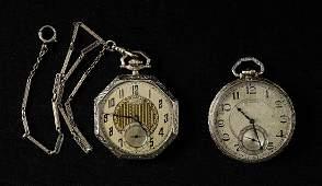 Two Illinois Pocket Watches