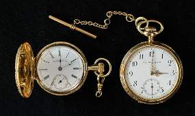 Two Antique CT Pocket Watches
