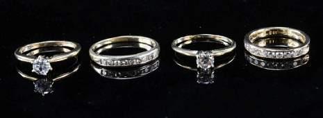 Four Estate Diamond Rings