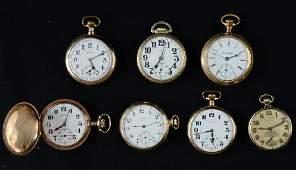 7 Illinois Pocket Watches