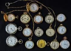 Waltham Estate Pocket Watches