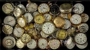 Large Estate Pocket watch Group