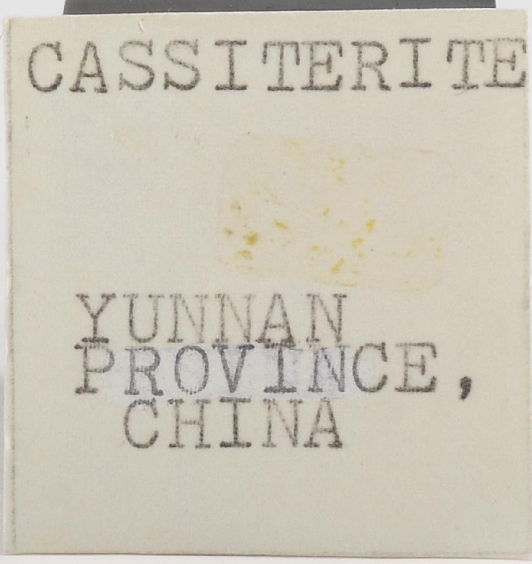 Cassiterite Mineral Specimen - 2