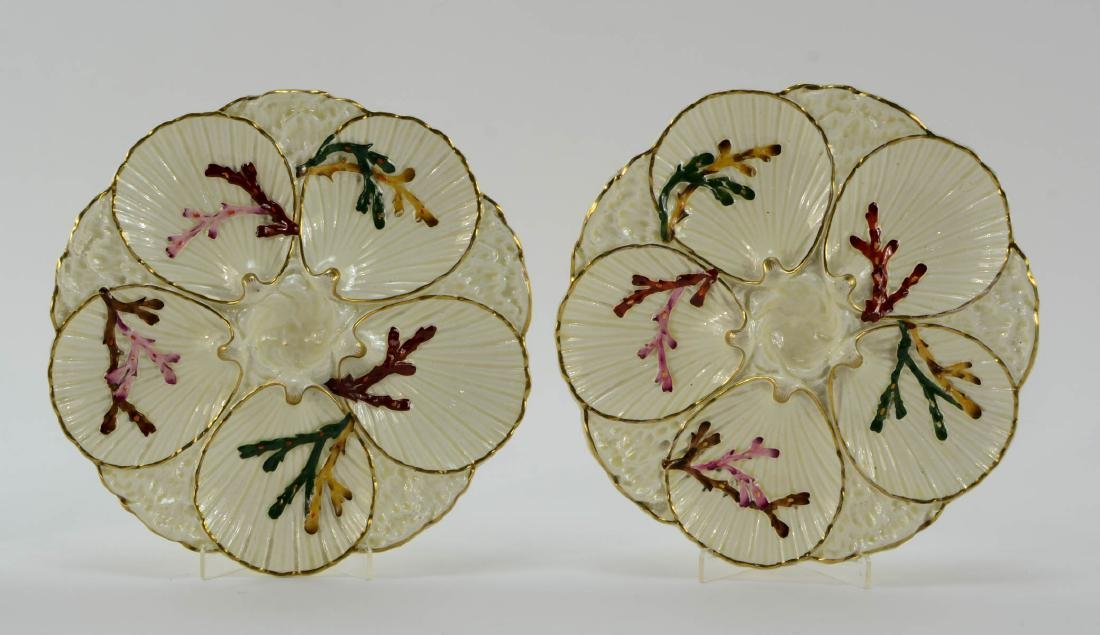 Group of five Oyster Plates - 2