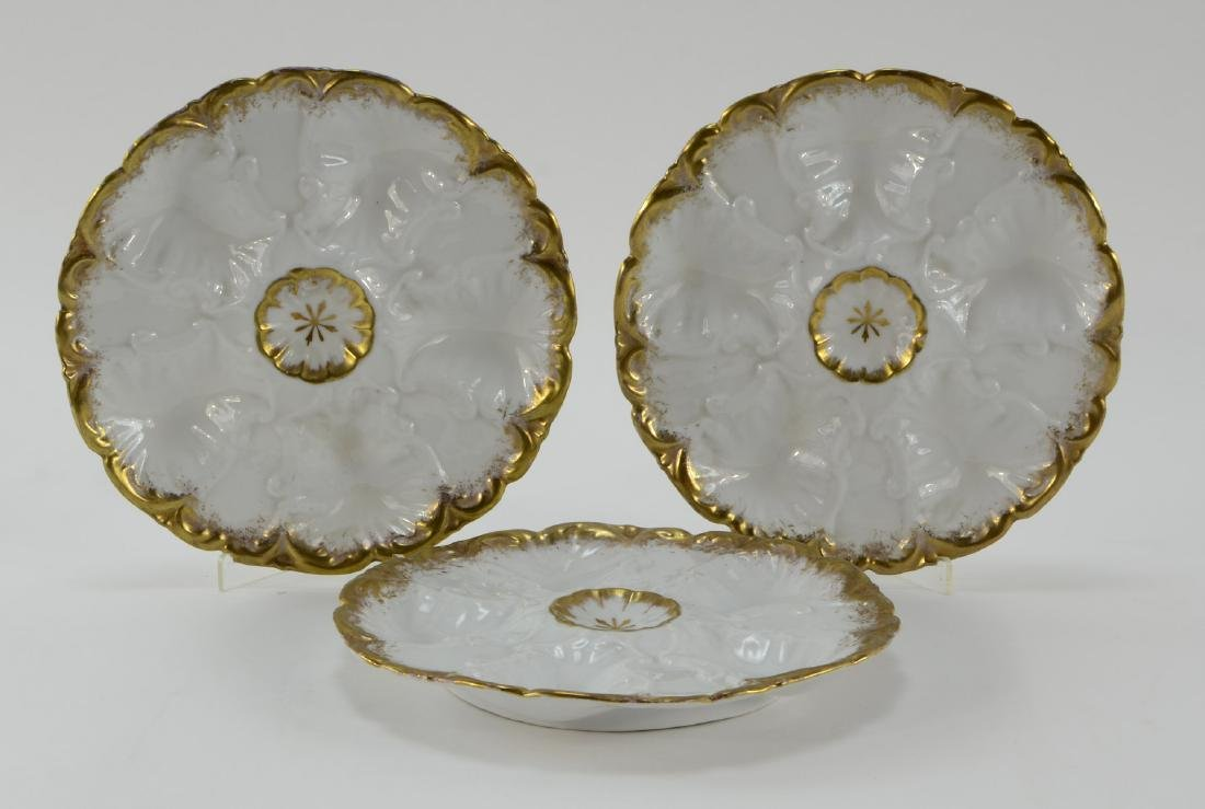 Group of five Oyster Plates - 4