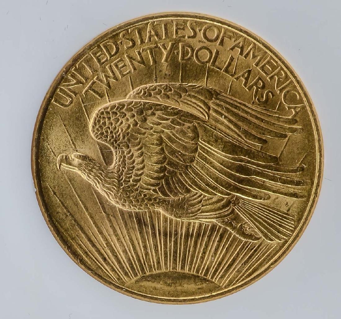 1908 No Motto $20 Gold Double Eagle - 4