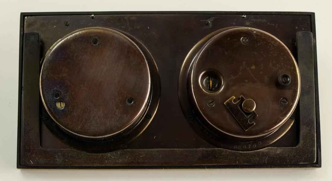 Chelsea Desk Clock Barometer - 3