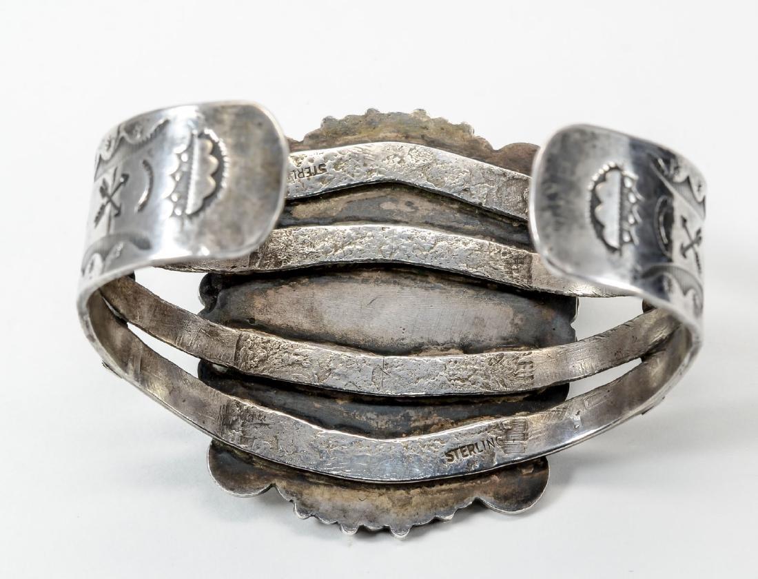 Sterling Silver Cuff Bracelet - 3