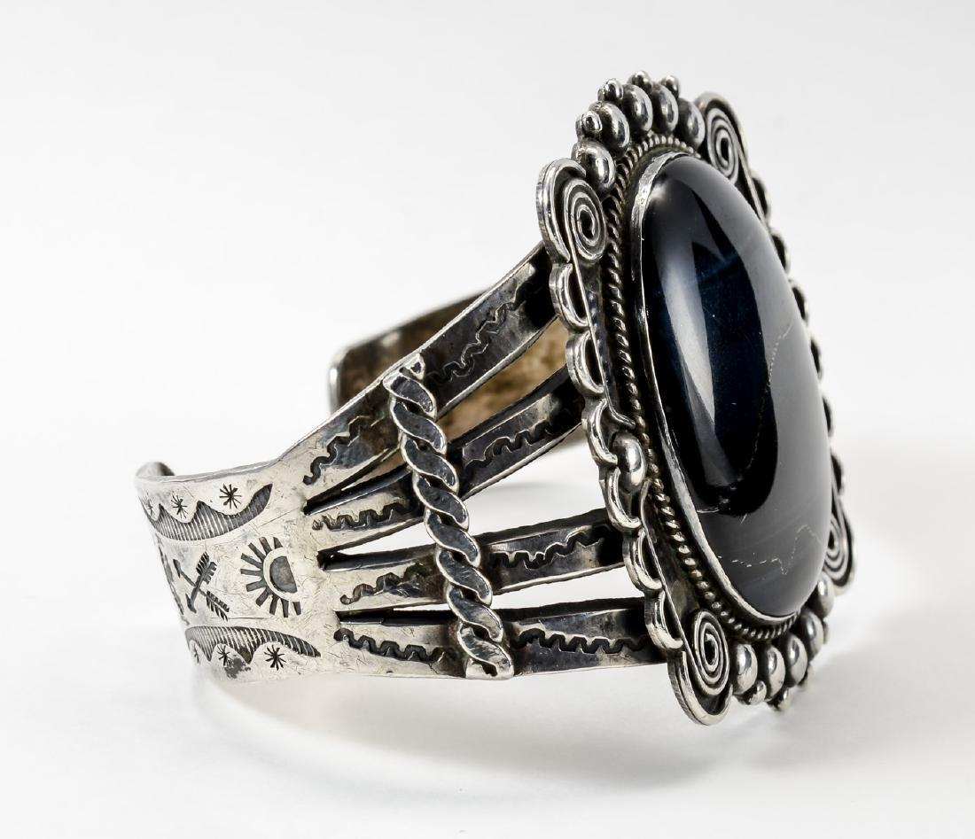 Sterling Silver Cuff Bracelet - 4