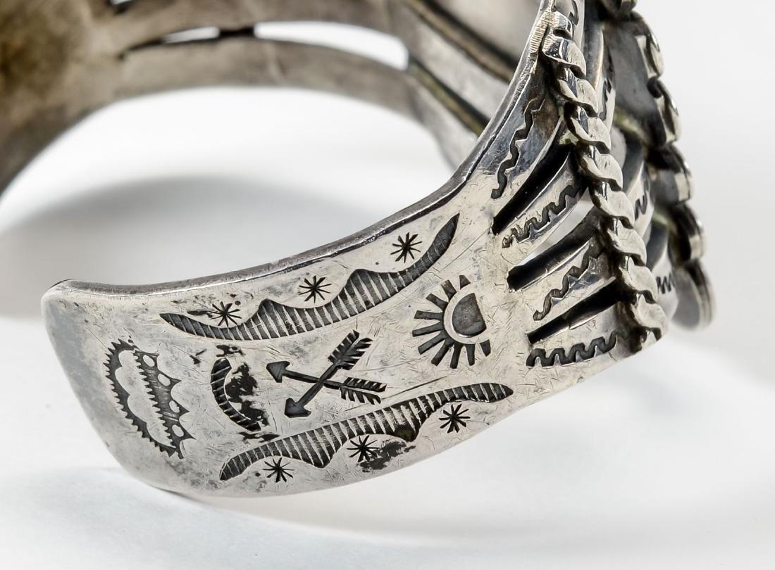 Sterling Silver Cuff Bracelet - 5