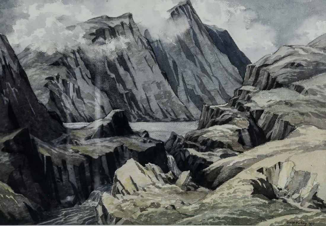 George Mackley Watercolor Landscape