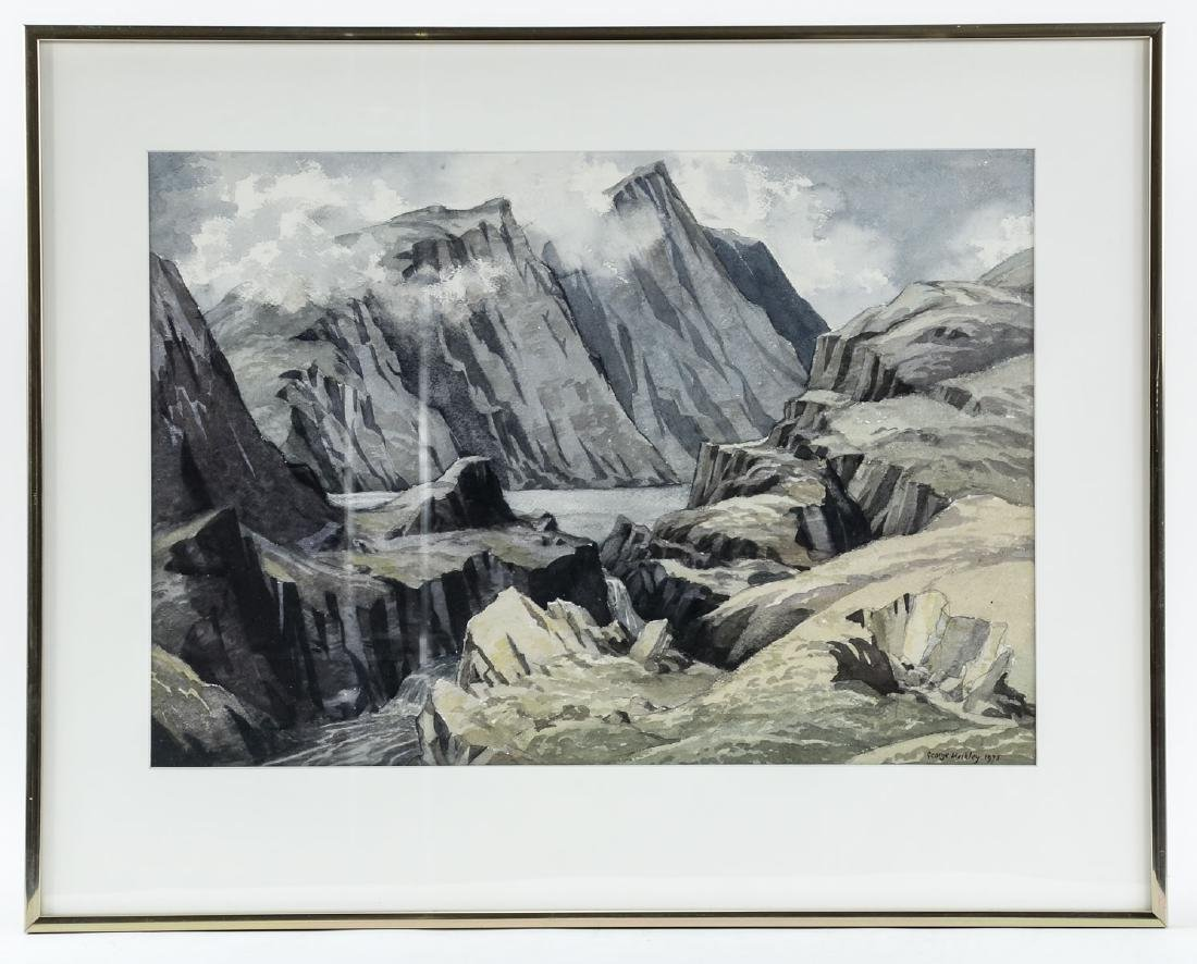 George Mackley Watercolor Landscape - 2