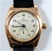 Mens Vintage Rose Gold Rolex Wrist Watch